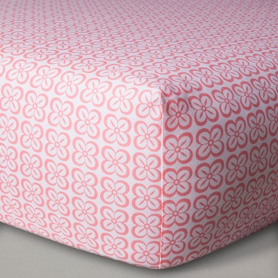 Sabrina Soto™ Lola Fitted Crib Sheet - Pink