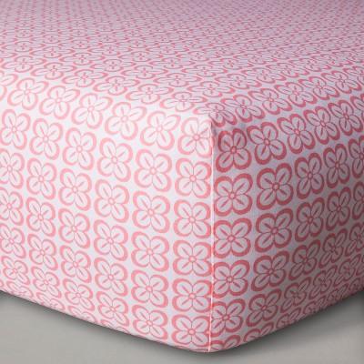 Sabrina Soto™ Lola Fitted Crib Sheet - Pink