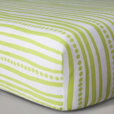 Sabrina Soto™ Safari Crib Sheet - Green