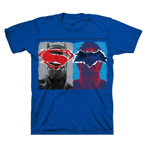 Batman V Superman Boys 39 Hero Eyes Logo Graphic T Target