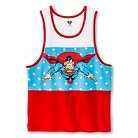 Superman Boys' Action Hero Graphic Tank Top