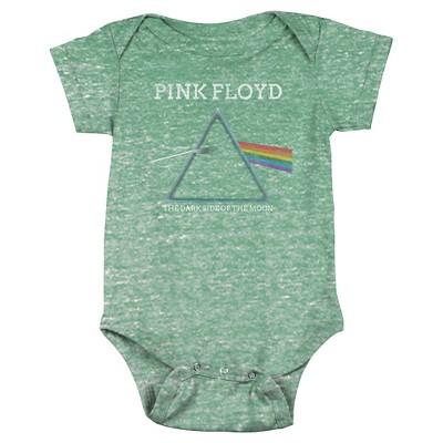 Baby Pink Floyd Bodysuit Green 3-6 M