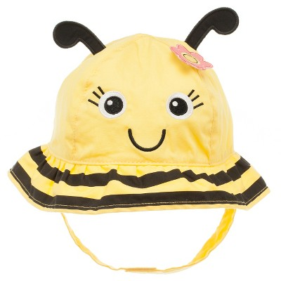 Baby Girls' Bumblebee Sun Hat Yellow 12-24M