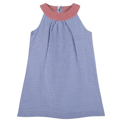G-Cutee® Baby Girls' Star Shift Dress - Blue 6-12 M