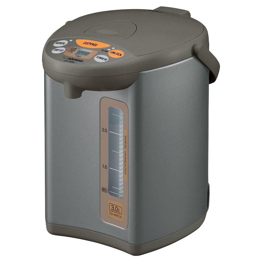 Zojirushi Micom Water Boiler & Warmer - Silver Brown, 3 liters