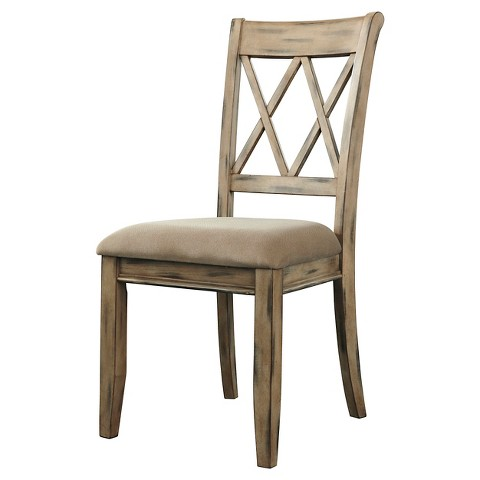Mestler Dining Upholstered Side Chair 2 Pack Tar