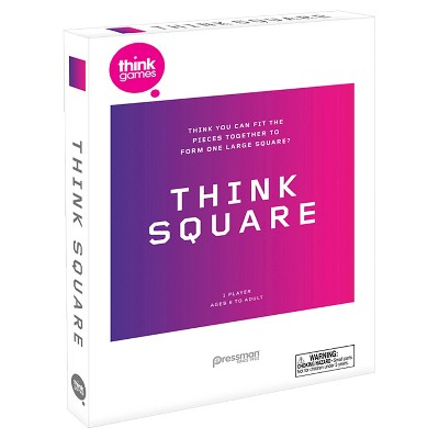 Pressman Think Square Single - Player Strategy Game