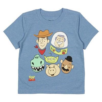 Baby Boys' Toy Story® T-Shirt - Light Blue Heather 12 M