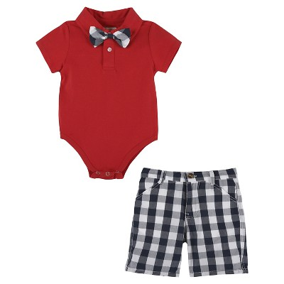 Child Bodysuits G-Cutee Red Blue 3-6 M
