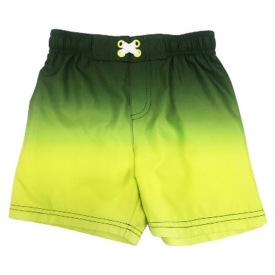 Baby Boys' Swim Trunk Yellow 9M - Circo™