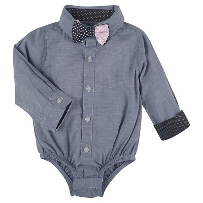 Child Bodysuits G-Cutee Blue 3-6 M