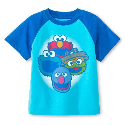 Sesame Street™ Baby Boys' T-Shirt - Blue 18 M