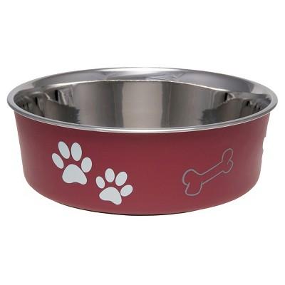 Loving Pet Products Bella Bowl Medium Merlot