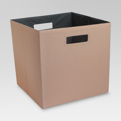 "Fabric Cube Storage Bin 13"" - Coral Island - Threshold™"