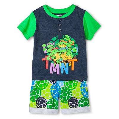 Top And Bottom Sets Nickelodeon Teenage Mutant Ninja Turtles Blue 12  MONTHS