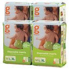 gDiapers Disposable Inserts Case M/L/XL - 128 Count