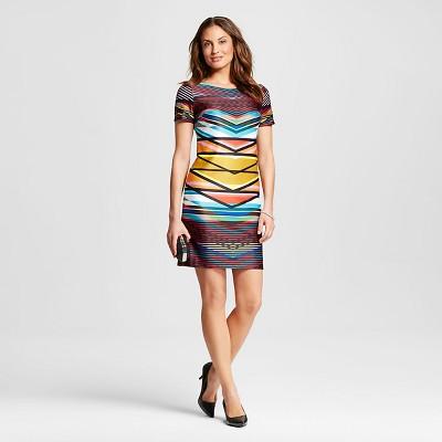 Sheath Dresses Black Multi-colored M by Maia 0