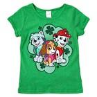 Nickelodeon Paw Patrol Toddler Girls' St. Patrick's Tee - Green