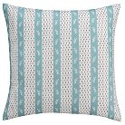 Seedling By ThomasPaul® Curiosities Dotted Stripe Pillow Sham Euro - Multicolor