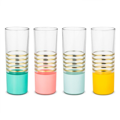 Drinkware Set Oh Joy! Pink Multi-colored Teal Yellow