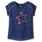 Girls' Star T-Shirt Blue XS - Cherokee®