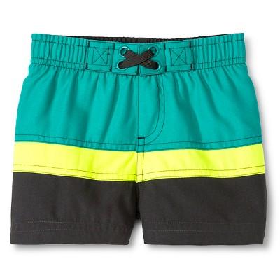 Baby Boys' Swim Trunk Gray 12 M - Circo™