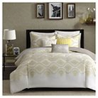 Colima 6 Piece Duvet Cover Set- Yellow (Full/Queen )