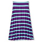 Girls' U-Knit Girls Maxi Skirt - Purple M