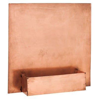 Floor Planter EVERGR Rectangle Copper