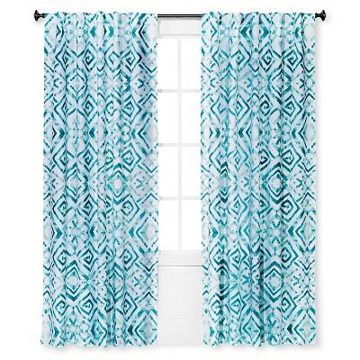 "Curtain Panel Tulum Aqua (54""x84"") - Sabrina Soto™"