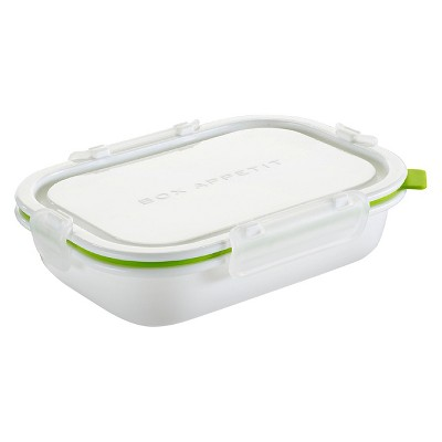 "Black + Blum - Lunch Box Rectangle Lime – 8.07""L x 5.71""W x 2.17""H"