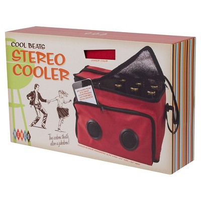 Wemco Radio Cooler - Red