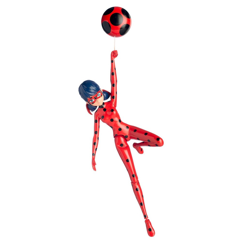 Miraculous Action Doll Jump & Fly Ladybug