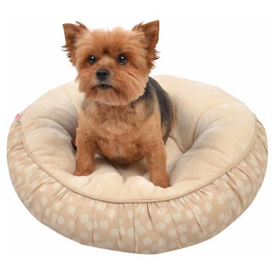 Round Pet Bed, Squares S - Boots & Barkley™