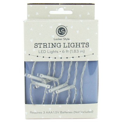 Locker Style™ String Lights with Mini Photo Clips - 7ft