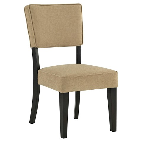 Gavelston Dining Upholstered Side Chair Set of Tar