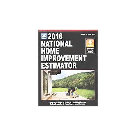 National Home Improvement Estimator 2016 Paperback Target