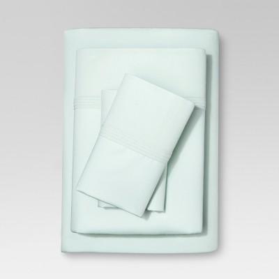 Organic Cotton Sheet Set (Full) Sealight Aqua - Threshold™