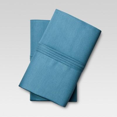 Organic Cotton Pillowcase Set (Standard) Deep Blue - Threshold™