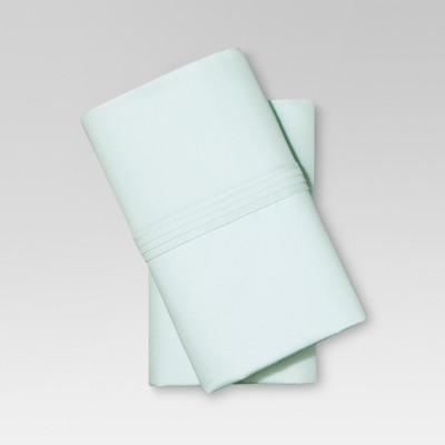 Organic Cotton Pillowcase Set (King) Sealight Aqua - Threshold™