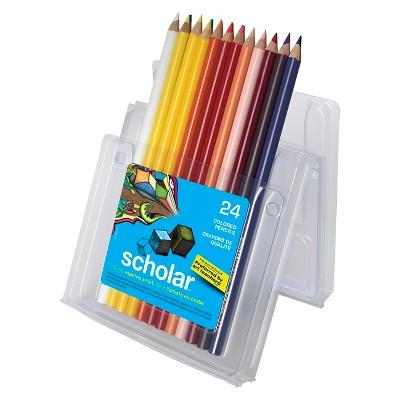 Prismacolor® Scholar Colored Pencils - 24 ct