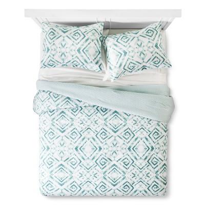 Tulum Comforter And Sham Set Full/Queen - Aqua Sabrina Soto®
