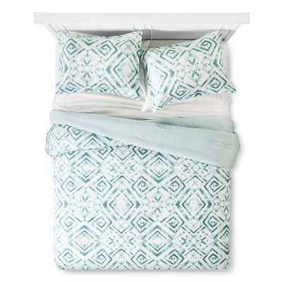 Tulum Comforter And Sham Set King - Aqua Sabrina Soto®