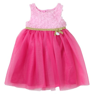 Baby Girls' Hello Kitty Dress Pink - 12M
