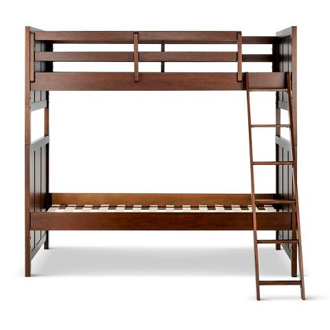 Finn kids bunk bed wood pillowfort target for Target loft bed