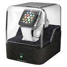 Trident Valet Charging Pedestal for Apple Watch - Black (OD-APWATC-BKVAL)