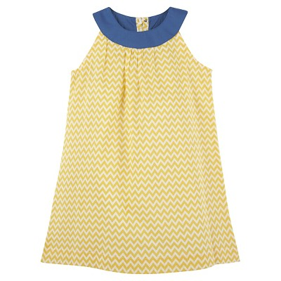 G-Cutee® Baby Girls' Zig Zag Dress - Yellow 3-6 M