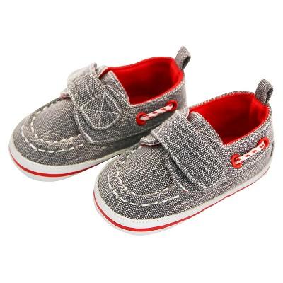 Baby Boys' Rising Star Boat Velcro Crib Shoes Blue 6-9M