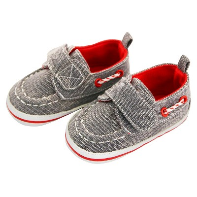 Baby Boys' Rising Star Boat Velcro Crib Shoes Blue 9-12M