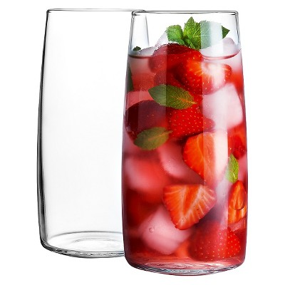 Luminarc Harmony 18oz Glass Cooler Set, 6pc